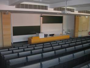 Front area of a type 1 lecture room