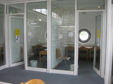 The Library's group study rooms