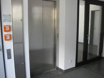 Lift inside Building 6