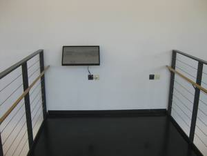 Touchscreen computer inside Building H
