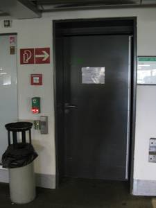 Inside view; Level U1, door to the lift
